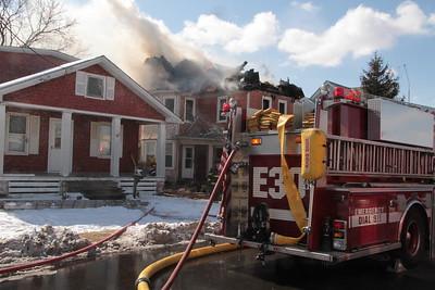Millville House Fire Feb 20 2-13