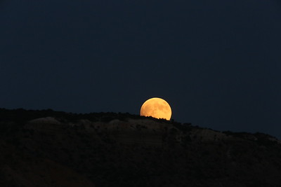The night of the Blood Moon Palo Duro Canyon State Park